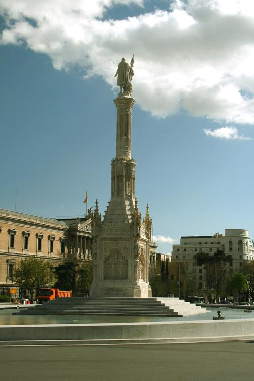 Kolumbusdenkmal in Madrid