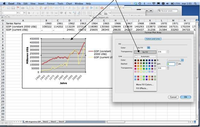 Excel hintergrund transparenz