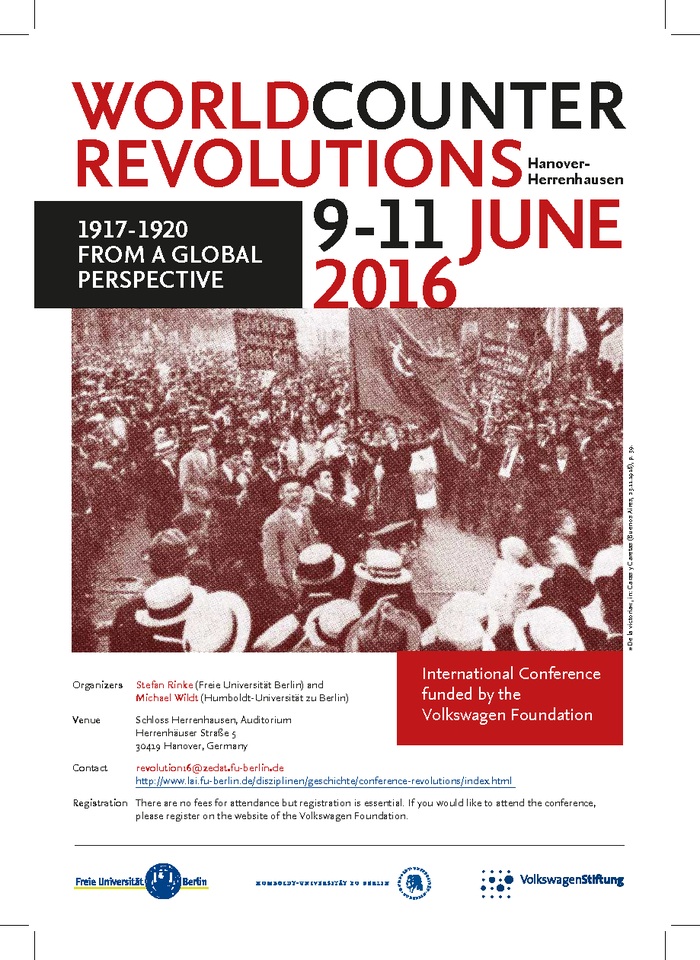 Poster Conference 2016 World Counter Revolutions
