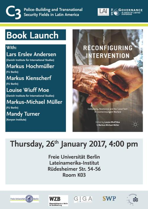 Invitation Book Launch Reconfiguring Intervention 2017